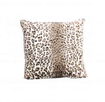 Dekokissen Lana Leopard 50x50 cm | Natural | inklusive Füllkissen