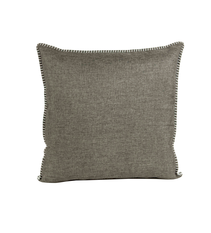 dekokissen charleston 50x50 cm charcoal ohne f llkissen. Black Bedroom Furniture Sets. Home Design Ideas