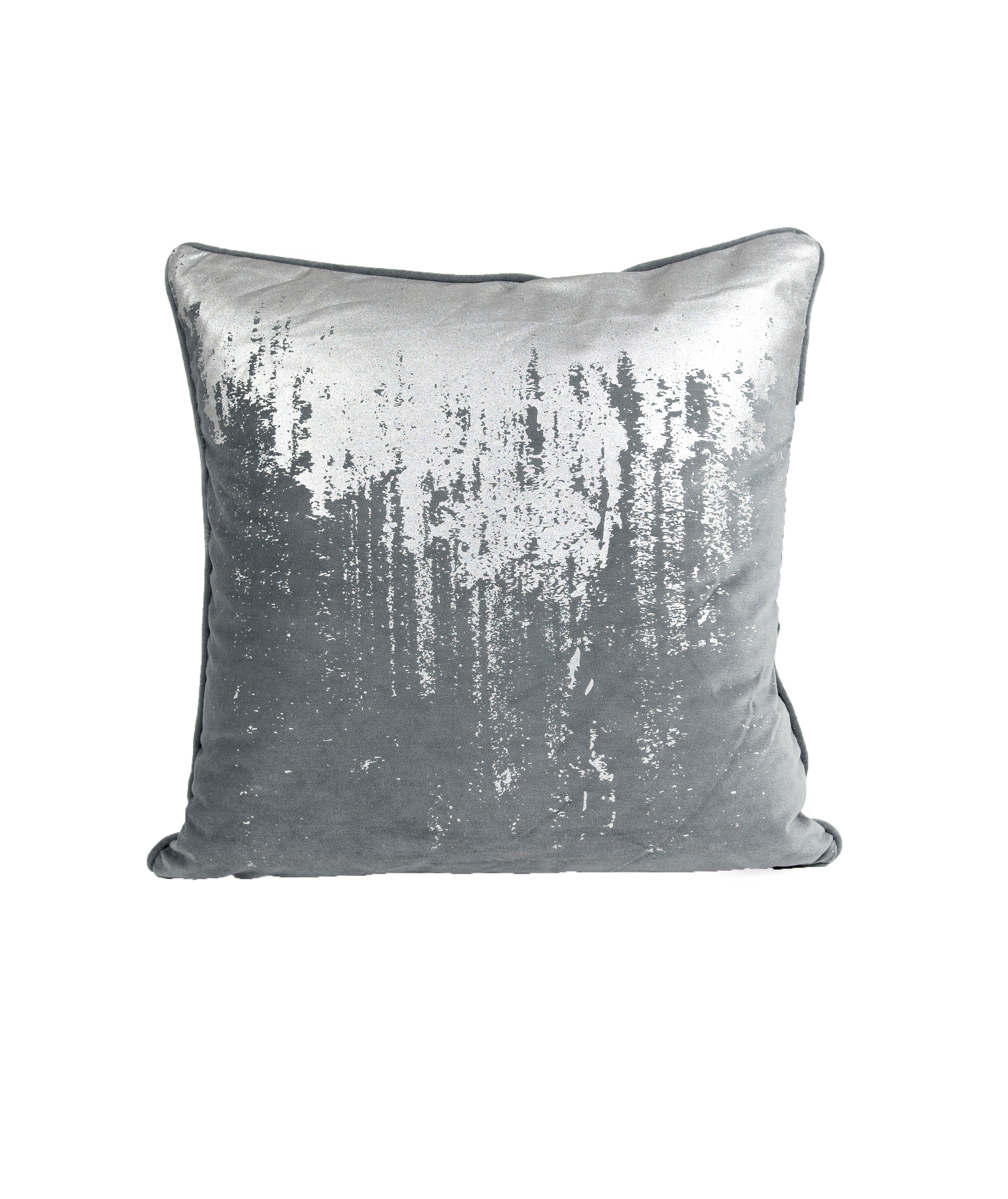 dekokissen reginald 50x50 cm charcoal silver ohne f llkissen. Black Bedroom Furniture Sets. Home Design Ideas
